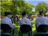 American Legion Members at Town Hall Ceremony