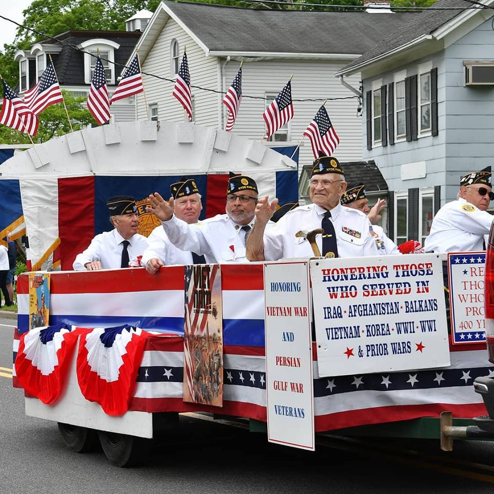 Memorial Day Parade Veterans Float Photo by Eric Miller