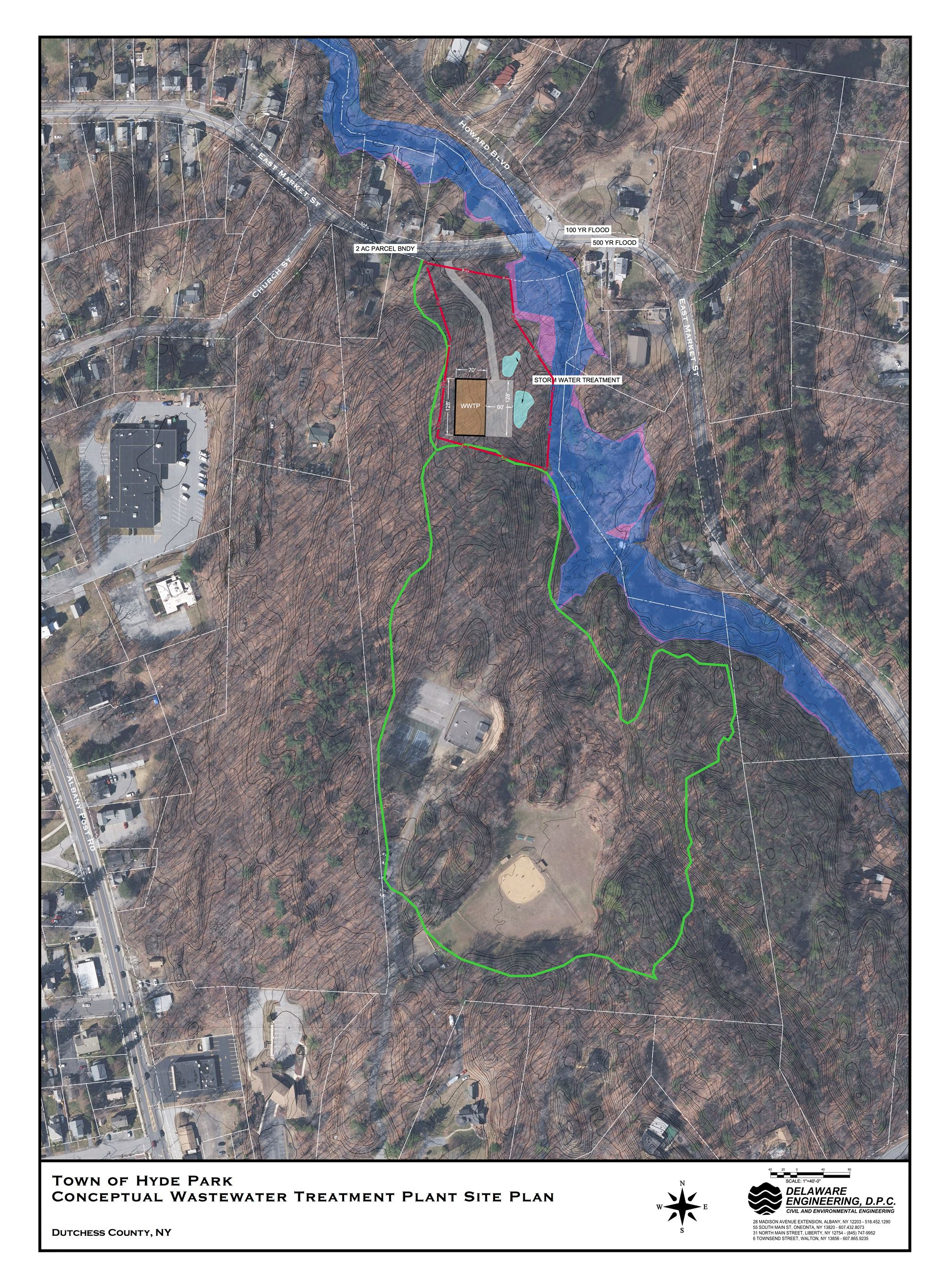 Proposed Wastewater Treatment Plant Conceptual Map
