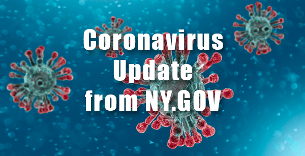 Coronavirus Update from NY.GOV