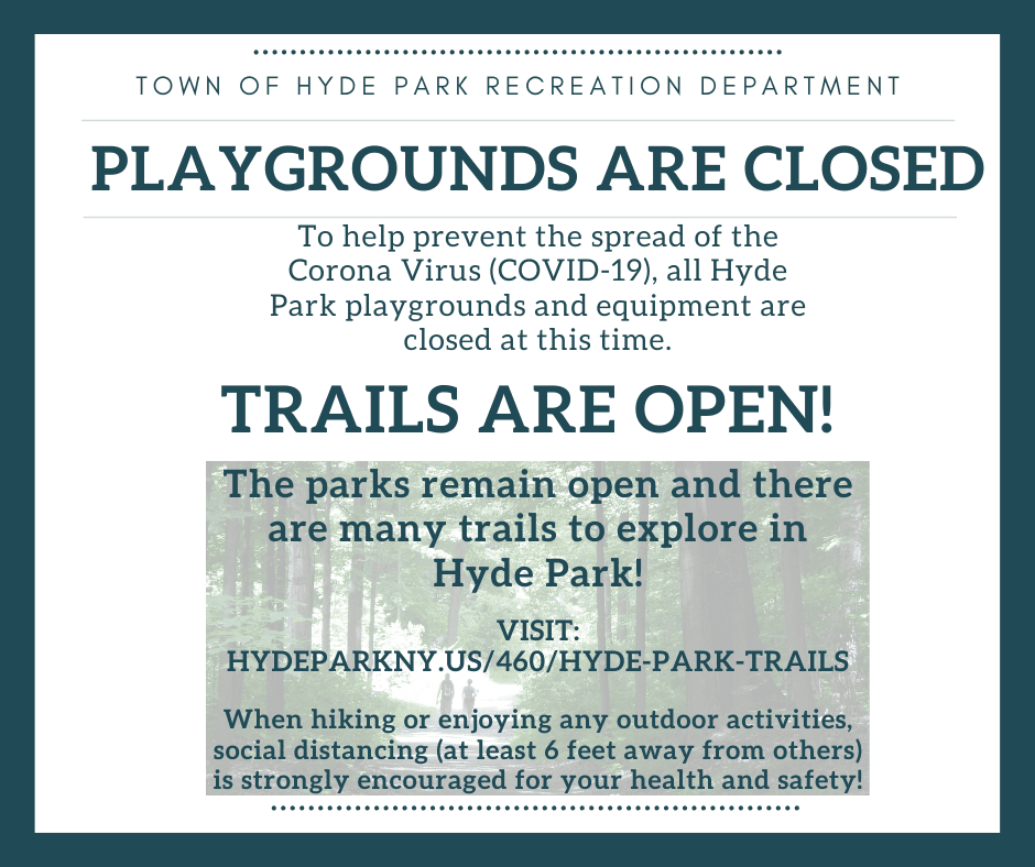 Playground Closure Notice