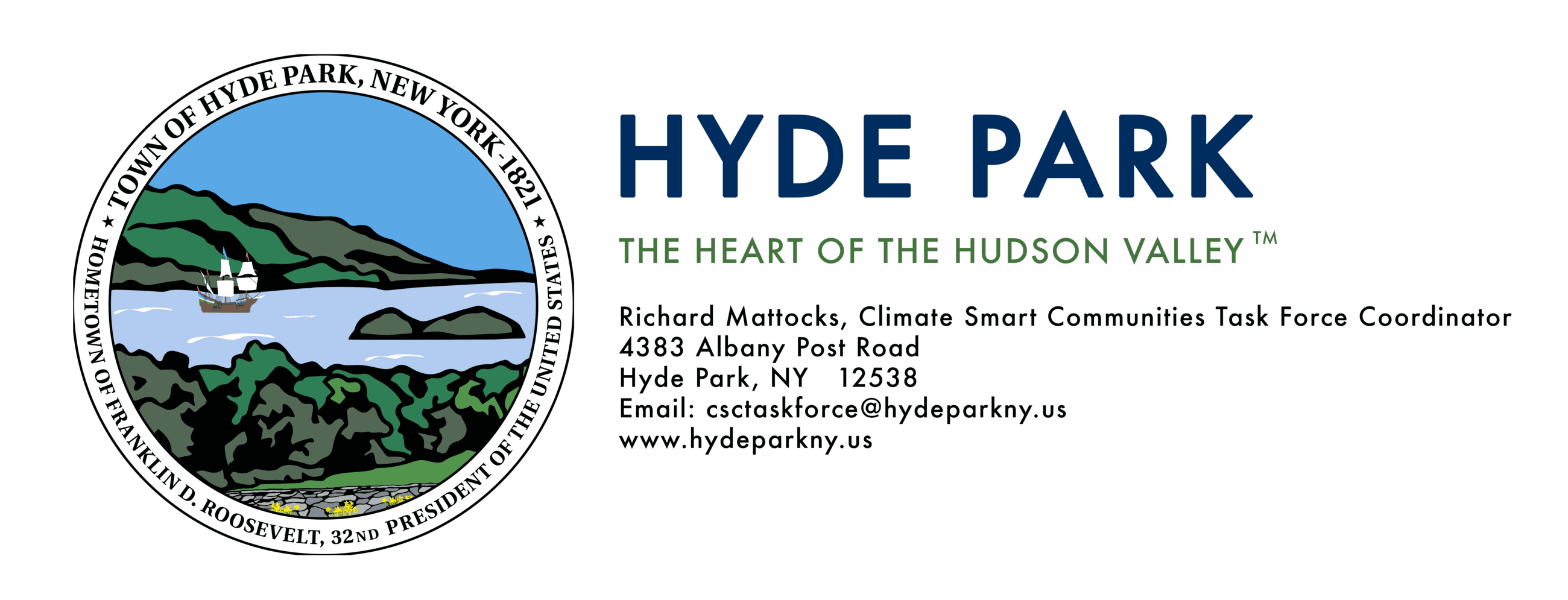 Hyde Park Logo and Tagline CSC