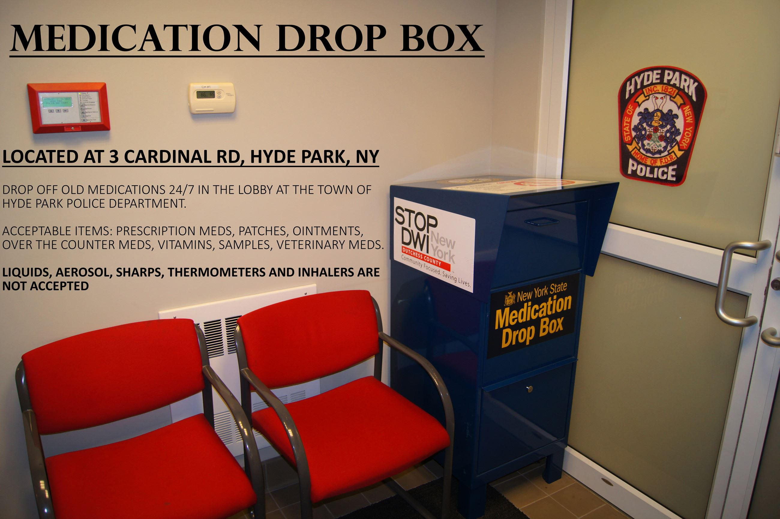 Medication Drop Box