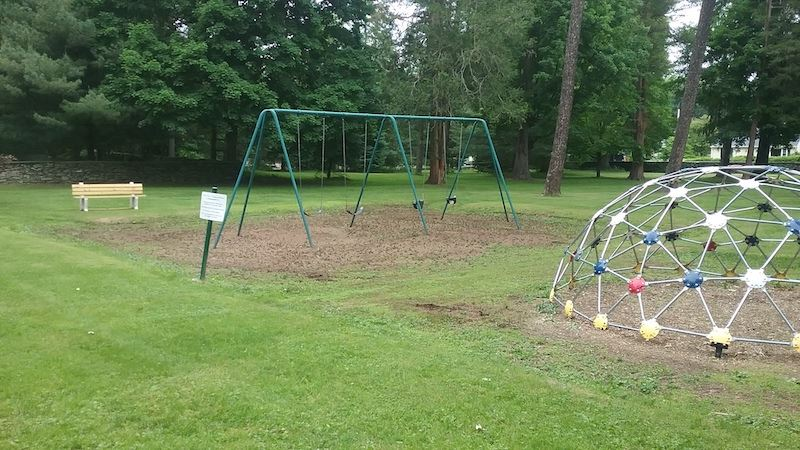 Doty Park Swing and Jungle Gym