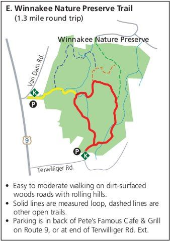 Winnakee Trail Map