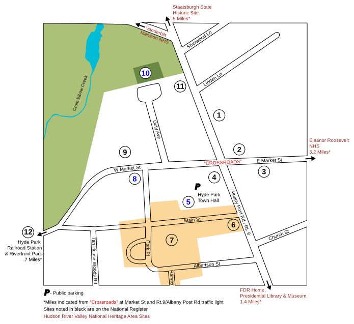 Map of Historic Sites